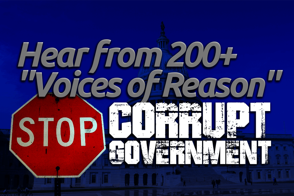 stop corrupt government